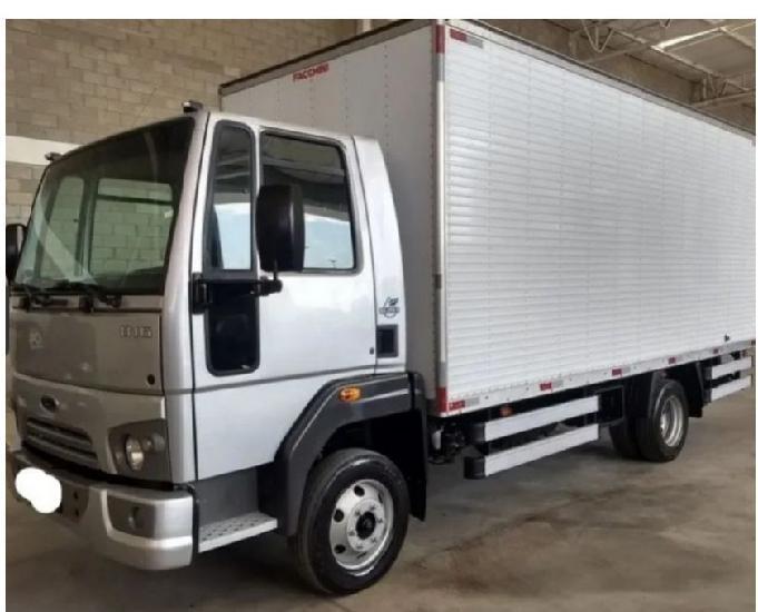 Ford cargo 816 baú no boleto
