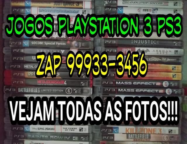 Jogos playstation 3 - super oferta!!