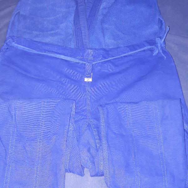 Kimono torah reforcado - azul - junior