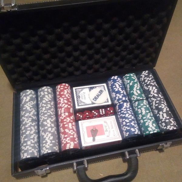 Kit poker completo novo