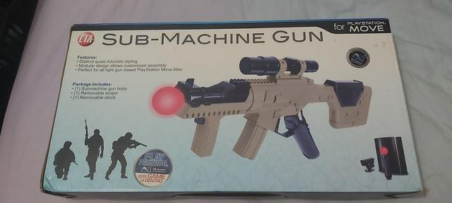 Metralhadora submachine gun cta digital - ps3