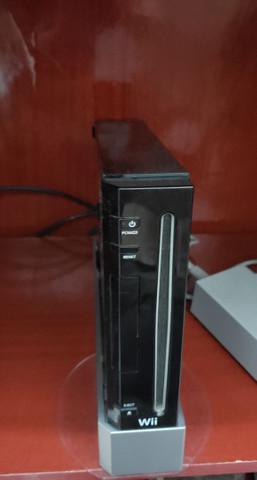 Nintendo wii desbloq + hd 320gb + cabo componente