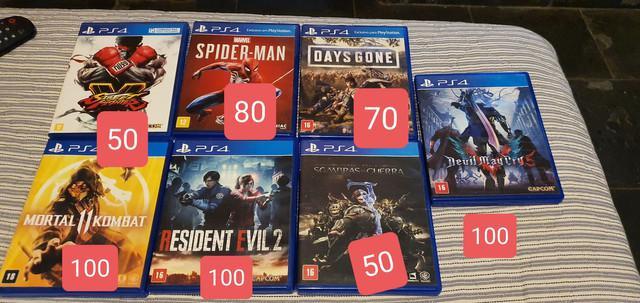 Playstation 4 jogos*