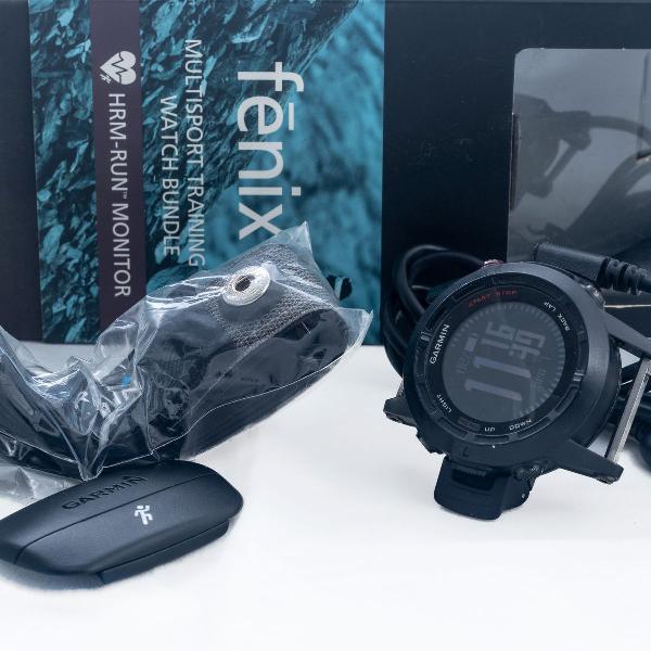 Relógio garmin fenix 2 multisport watch bundle - sem