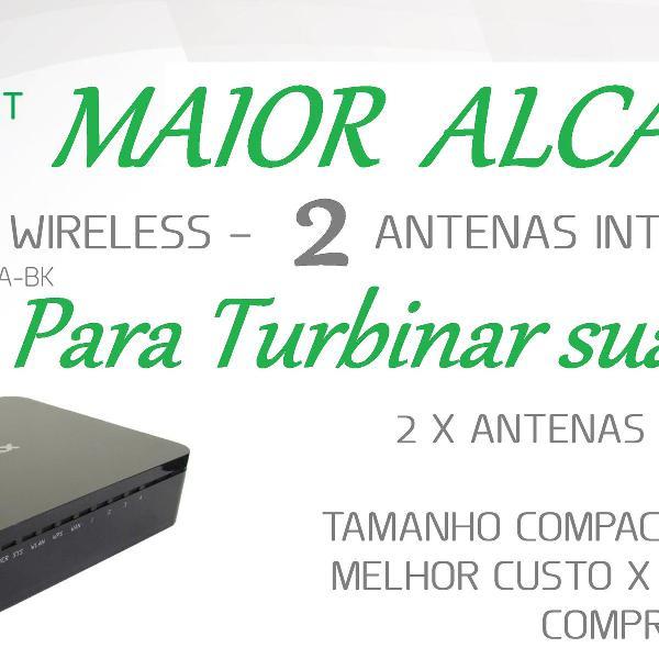 Roteador repetidor wireless 300 mbps mwr-wr936ia-bk-v1 com 2