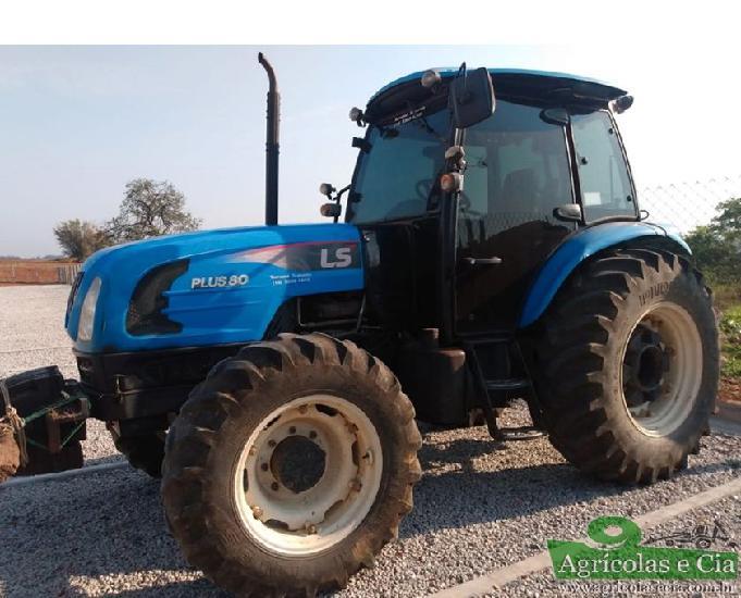 Trator ls tractor plus 80 4x4 (reversor - cabine original)