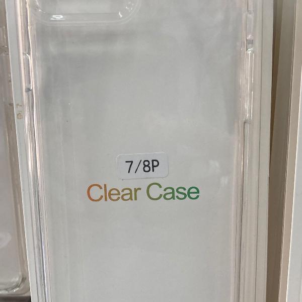 Capa case clear iphone 7 plus / 8 plus