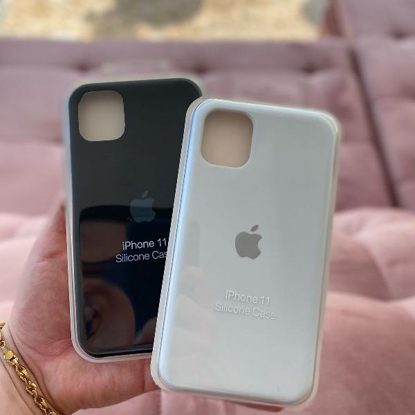 Case iphone 11 (kit 2 cases)
