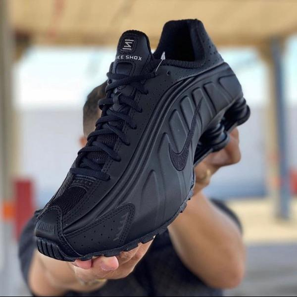 Nike shox black lançamento original com nota fiscal