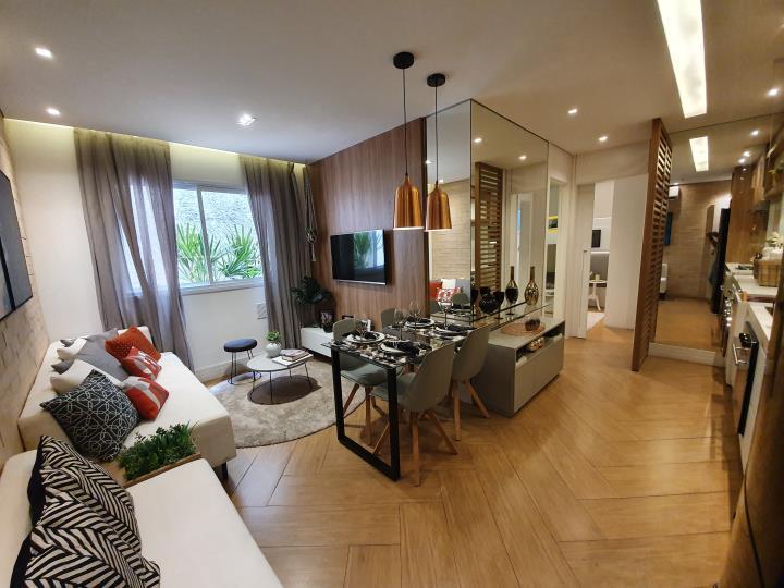 Apartamento de 40 metros quadrados no bairro belenzinho com