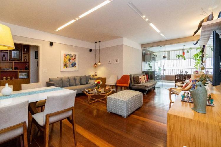 Apartamento para venda 142 m2 com 3 quartos em icaraí -