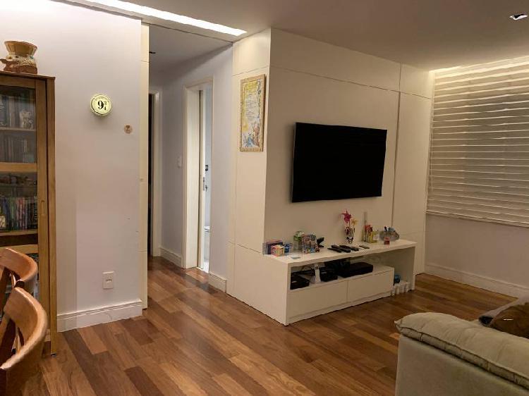 Apartamento à venda de 75m² em pinheiros, 2 qtos, 2 ban, 1