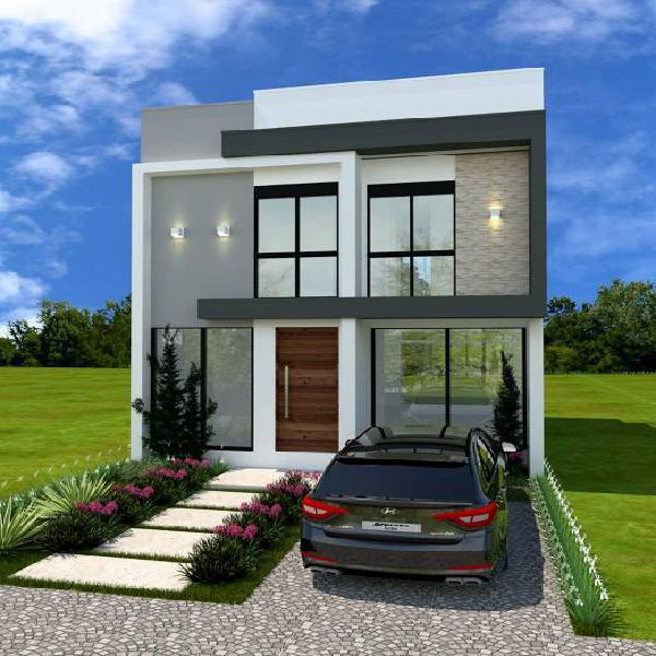 Casa de condomínio para venda com 112 metros quadrados com