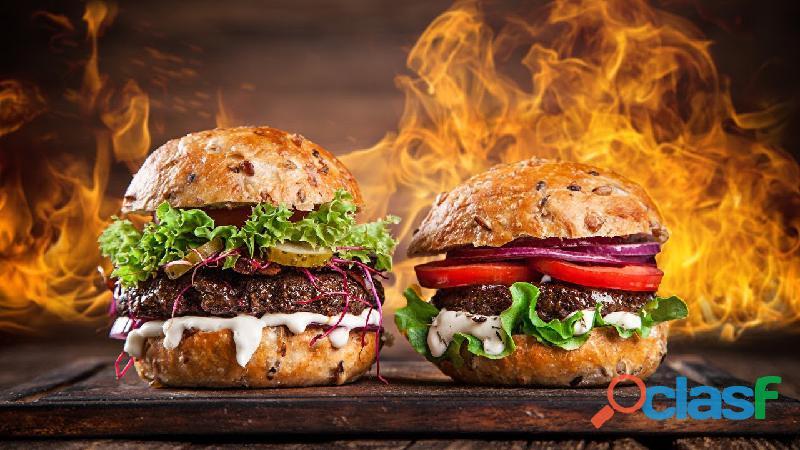Hambúrguer artesanal. 1