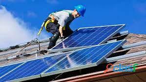 Instalador solar.