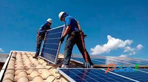 Instalador solar. 2