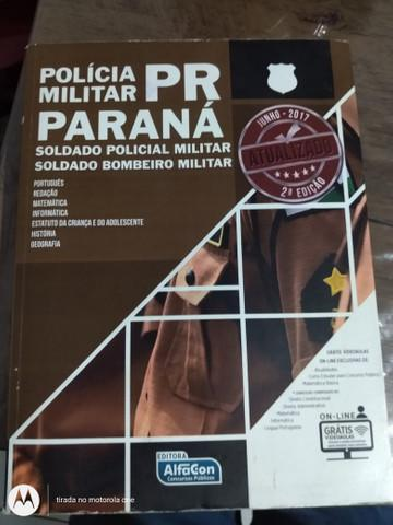 Apostila concurso polícia militar paraná
