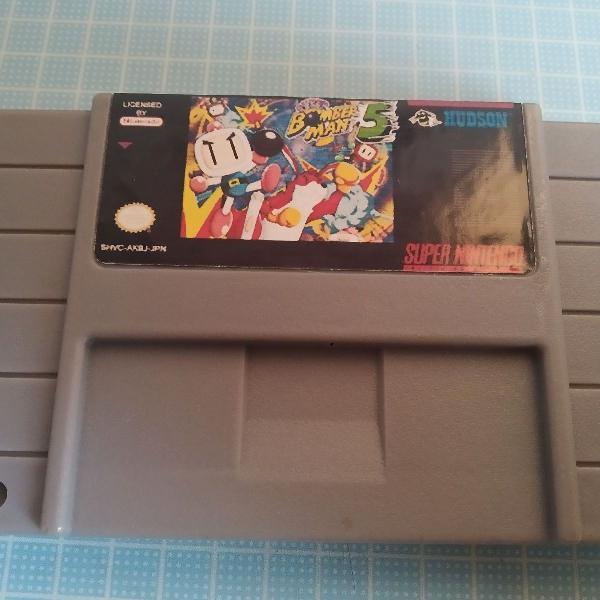 Bomberman 5 para super Nintendo