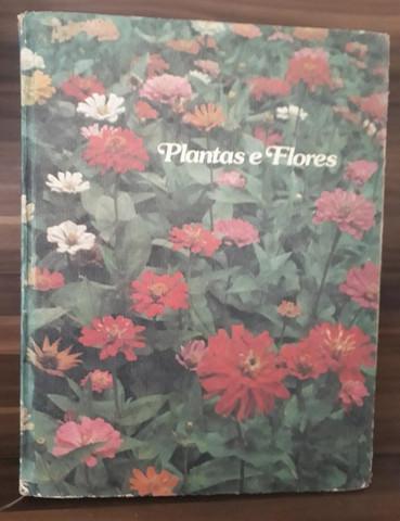 Coleção plantas e flores da editora abril
