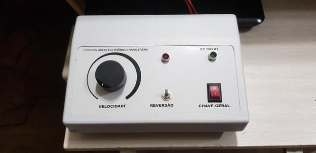 Controlador pra trem eletrico 2 amperes mais forte que