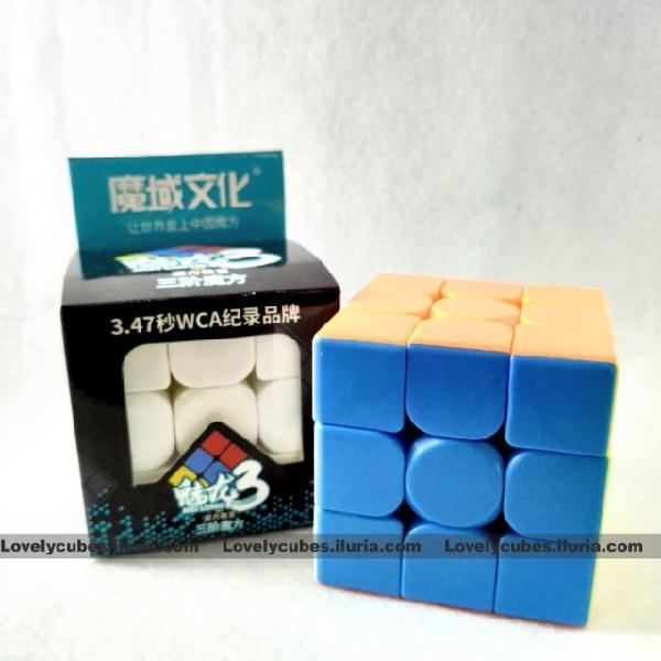 Cubo mágico 3x3 moyu meilong profissional