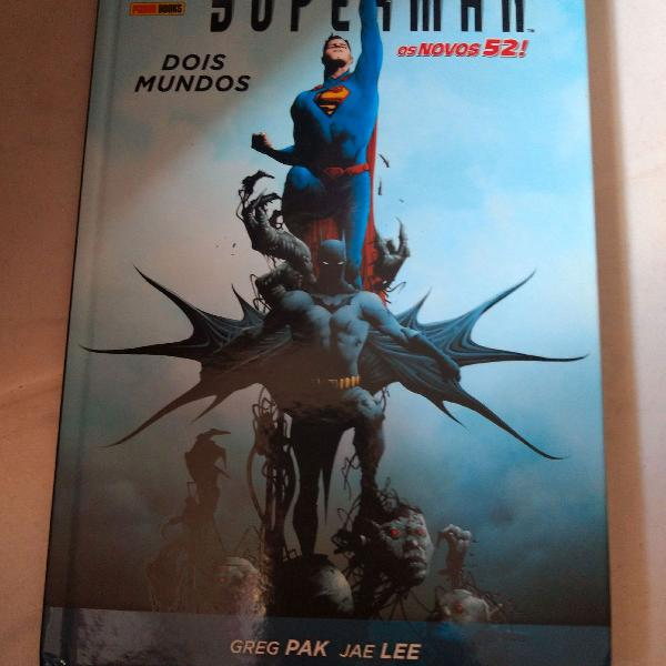 Hq encadernada batman superman- dois mundos