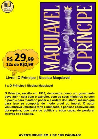 Livro | o príncipe | nicolau maquiavel