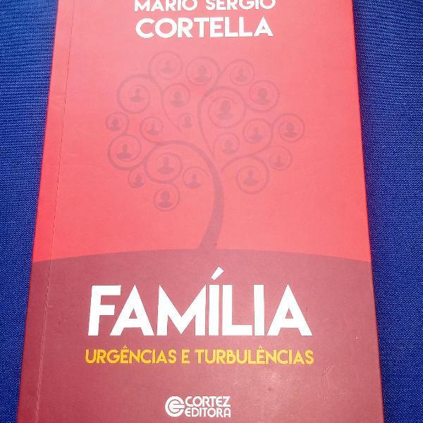 """Livro """" família, urgências e turbulências"""", de mário"""