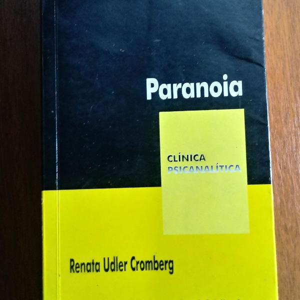 Livro paranoia - psicologia