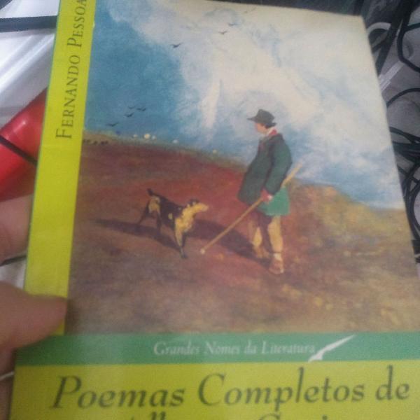 Livro poemas completos de alberto caeiro, de fernando pessoa