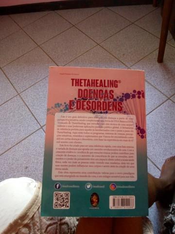 Livro thetahealing doenças e desordens