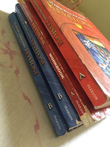 Livros didáticos em inglês