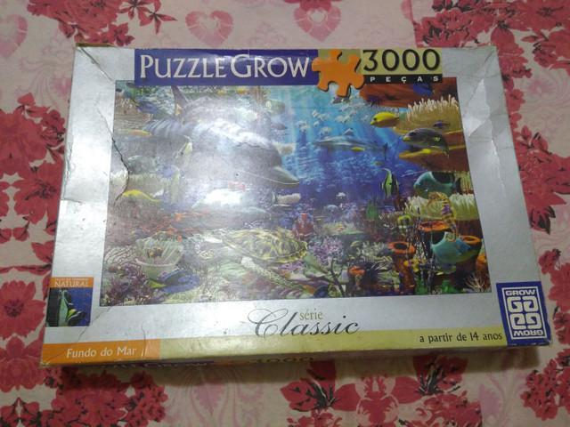 Puzzle grow 3000 peças fundo do mar