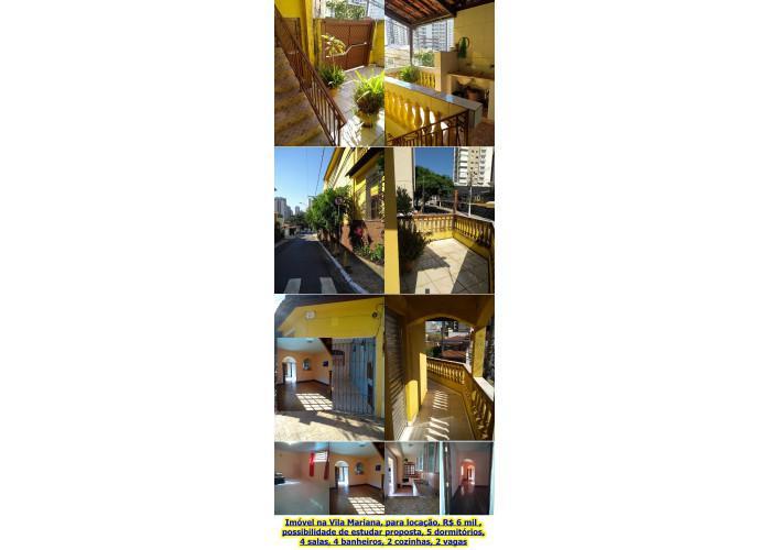 Sobrado residencial/comercial para locação na vila mariana