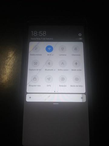 Xiaomi 6a tela quebrada