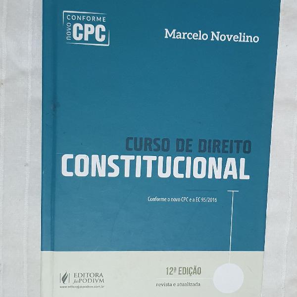 Curso de direito constitucional, 12 edição, ano 2017
