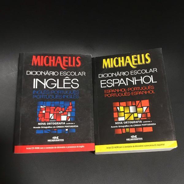 Dicionário escolar michaelis inglês e espanhol