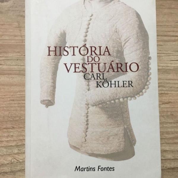 Livro história do vestuário