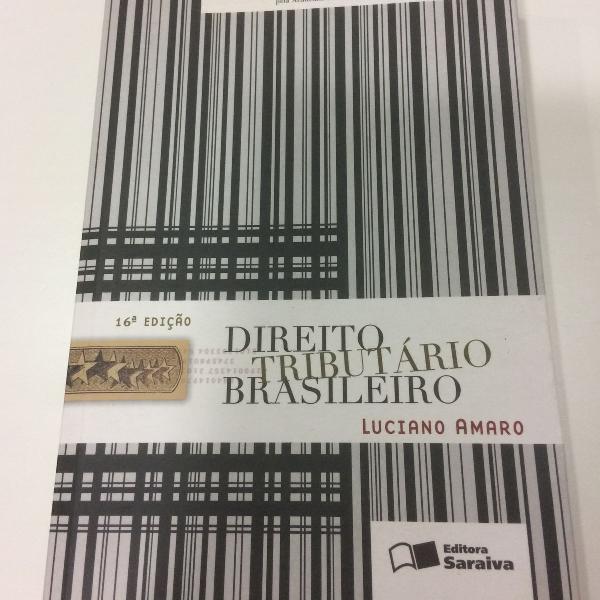 livro. título: direito tributário brasileiro. autor:
