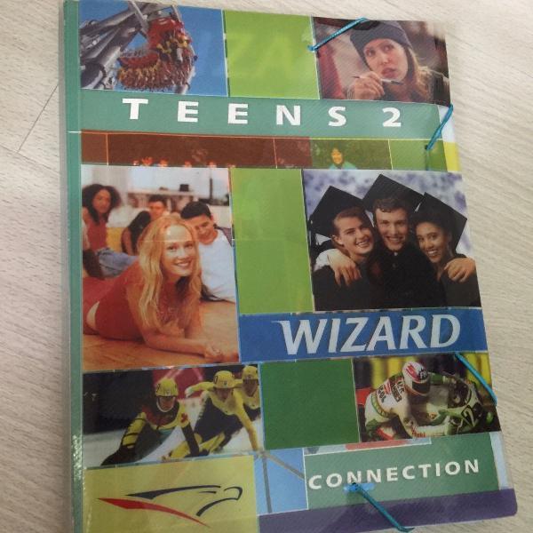 Materiais wizard - teens 2 + teens 3 - completos em ótimo