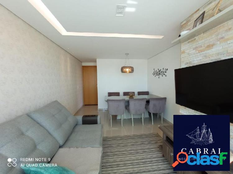 Apartamento com área privativa, 03 quartos a venda no bairro cabral