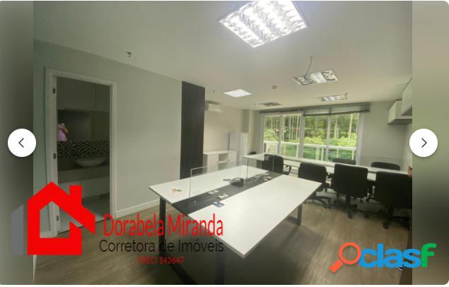 Sala 40 m² comercial no giovanni gronchi offices center morumbi zona sul