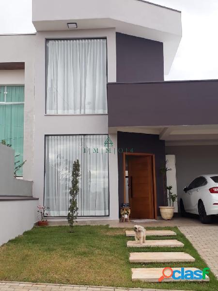 Linda casa à venda no condomínio portal ville flamboyant - porto feliz /sp