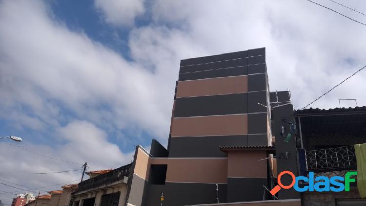Condomínio fechado novo com 12 unidades com 50m², 2 dormitórios