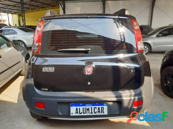 Fiat uno way 1.4 evo fire flex 8v 5p preto 2012 1.4 flex