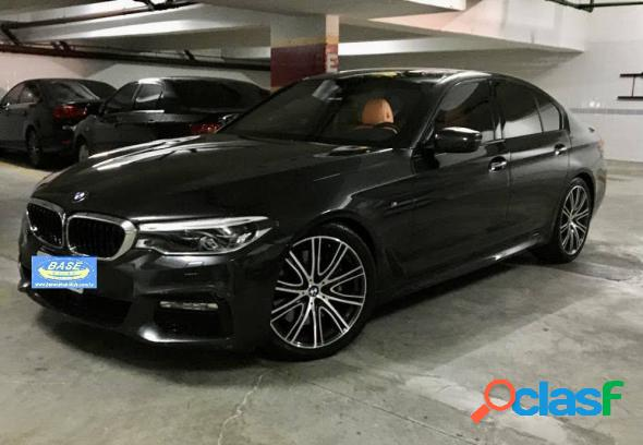Bmw 540i m sport 3.0 turbo 340cv aut. preto 2018 3.0 t gasolina
