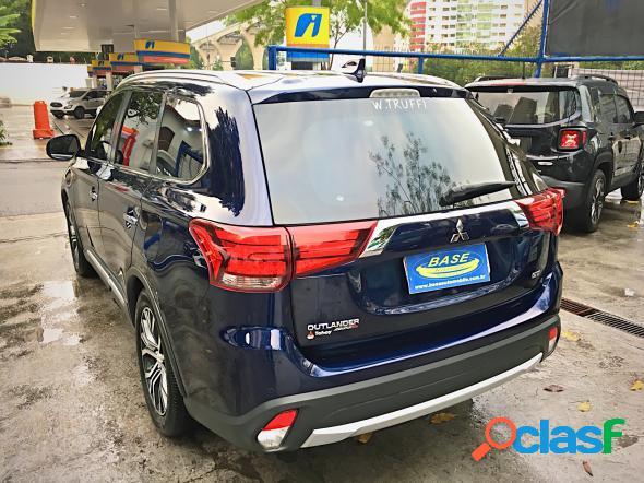 Mitsubishi outlander 3.0 gt 3.0 v6 aut. azul 2018 3.0 v6 gasolina