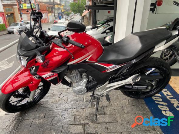 Honda cb 250f twister vermelho 2018 250 flex