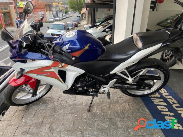Honda cbr 250r azul 2012 250 gasolina
