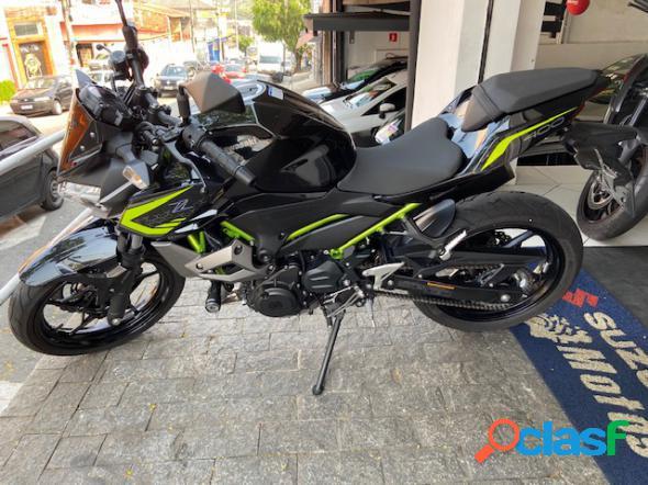 Kawasaki z 400 abs cinza 2020 400 gasolina